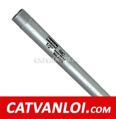 Ống thép luồn dây điện loại ren IMC - Smartube