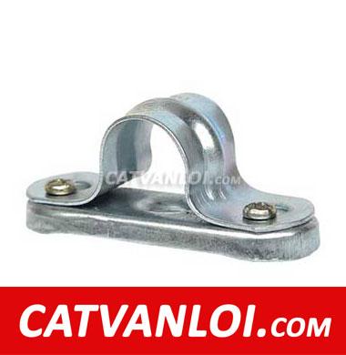 Kẹp ống thép luồn dây điện có đế CVL