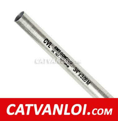Ống thép luồn dây điện trơn EMT-CVL