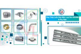 ống thép luồn dây điện bs4568